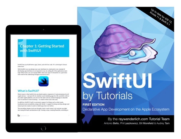 SwiftUI by Tutorials